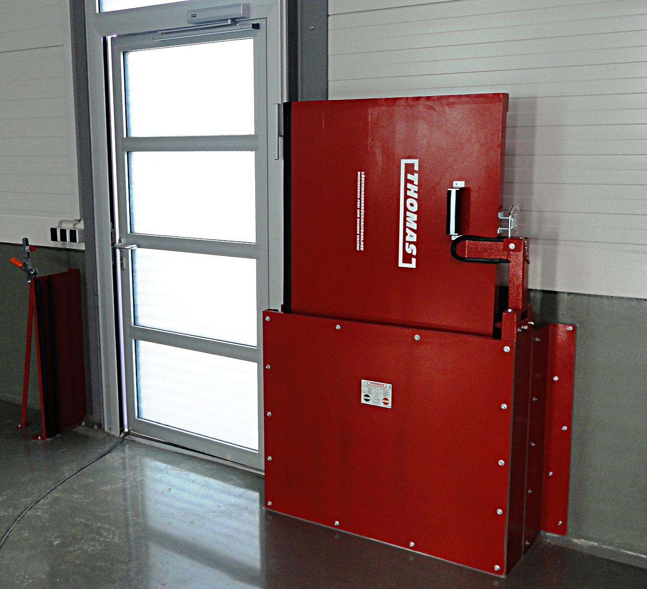 THOMAS  Manuelle  Barriere  Vertikal  Drehbar