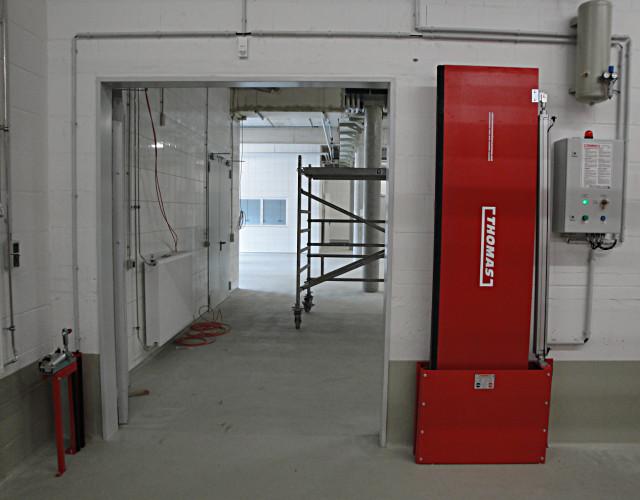 Automatische Barriere Vertikal Drehbar von Thomas.biz