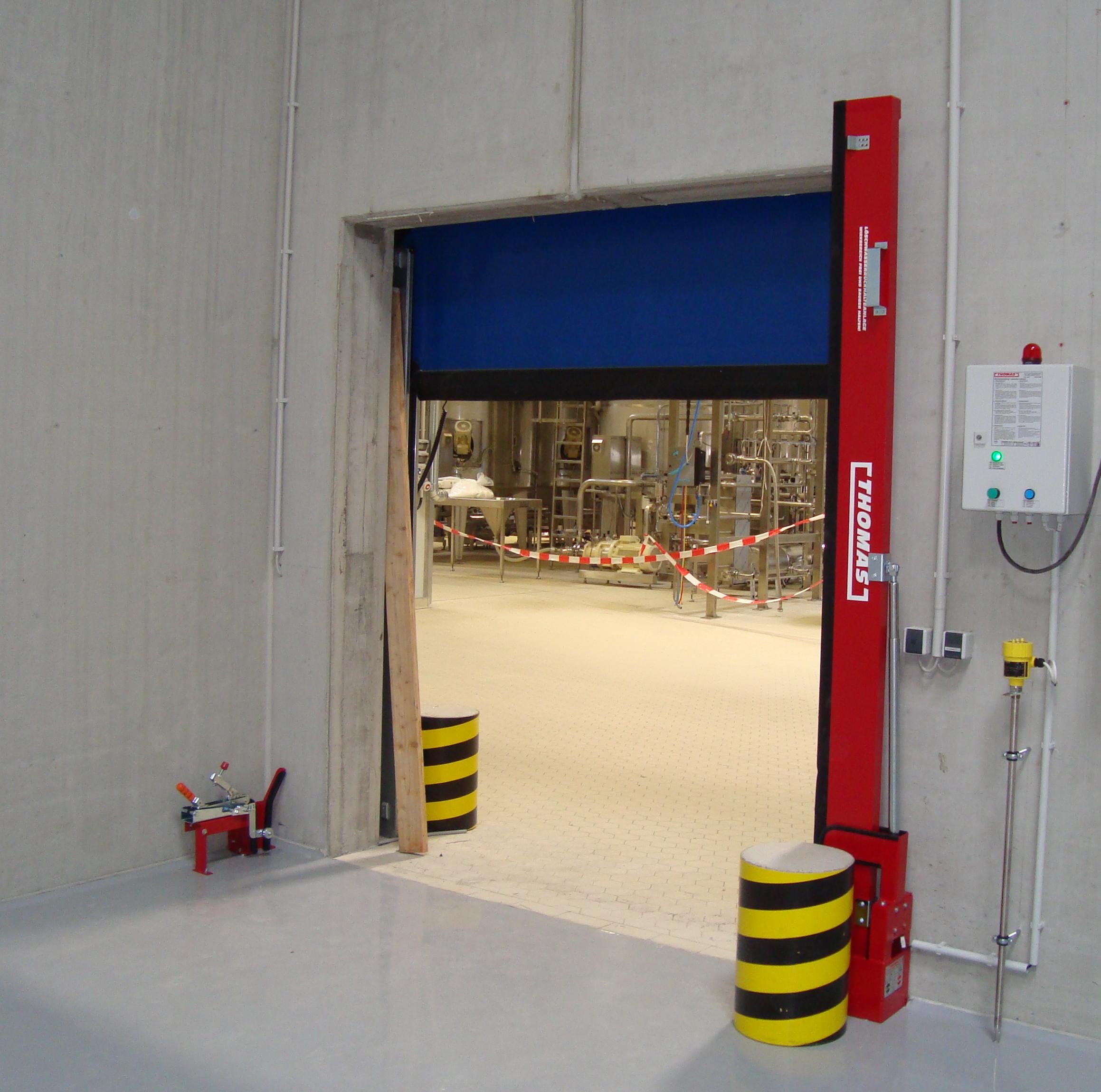 THOMAS Automatische Barriere Vertikal Drehbar, Manuelle Rückstellung