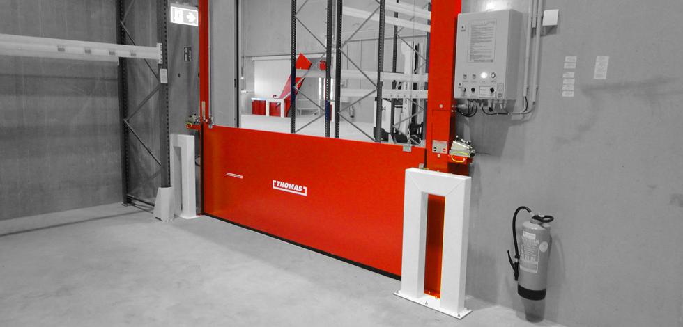 Automatische Barriere Vertikal Fahrbar von Thomas.biz