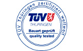 TÜV Bauart geprüft