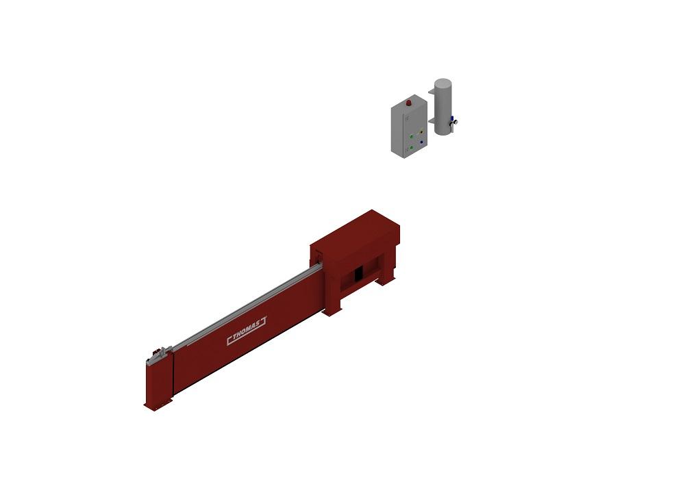 Automatische Barriere Horizontal Fahrbar geschlossen von thomas.biz